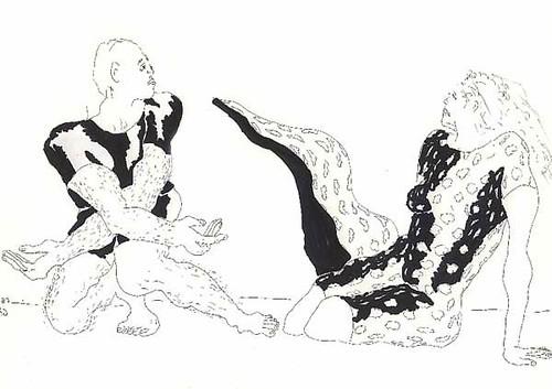 Couple Art Sketch