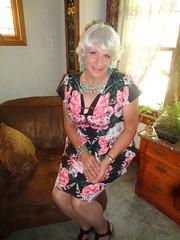 Part Of My Womanly Mind-Set (Laurette Victoria) Tags: silver dress necklace woman laurette