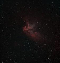 NGC7380-Wizard-Ha-Oiii-Aug22 (howarj) Tags: astronomy astrophotography asi1600mm astrophoto bicolor deepspace nebula ngc space sky stars astrometrydotnet:id=nova2740492 astrometrydotnet:status=solved