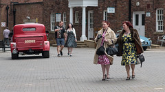 Turning up at the Festival of Vintage (Steve Barowik) Tags: york northyorkshire ebor eboracum jorvik roman viking micklegate ouse foss minster nikond750 barowik stevebarowik sbofls26 veteran vintage 1940s 1950s 1960s jive bop dance knavesmire fx fullframe prime 85mmf18g unlimitedphotos quantumentanglement lovelycity wonderfulworld