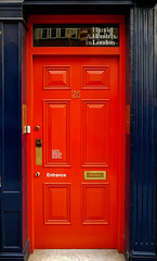 H & H (Мaistora) Tags: door red blue purple navy street house history music museum handel hendrix giants titans musician composer legend legendary heritage mayfair london england britain uk royal paint painted color colour phone mobile samsung galaxy s8 android lightroom