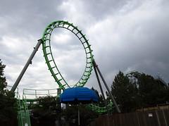 Sidewinder Loop (BunnyHugger) Tags: amusementpark arrow colorado denver elitchgardens rollercoaster shuttleloop sidewinder