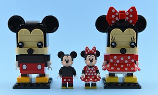 LEGO Mickey & Minnie Brickheadz🐭