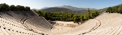 Epidavros   Ἐπίδαυρος   Epidaurus-7 (Paul Dykes) Tags: epidaurus ἐπίδαυροσ epidauros ancientgreece archaeologicalsite argolis argolid greece peloponnese theatre asclepeion asclepius