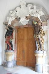 Portal (magro_kr) Tags: lubiąż lubiaz polska poland dolnośląskie dolnoslaskie śląsk slask silesia klasztor opactwo portal architektura drzwi monastery abbey architecture door