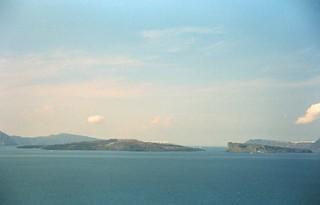 A Zeiss Ikon in Santorini