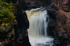 Falls on the Temperance River (FiddleHiker) Tags: superiorhikingtrail waterfall stateparks rocks nature