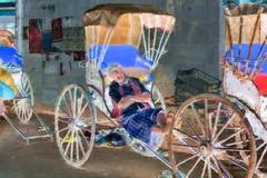 India - West Bengal - Kolkata - Rickshaw - 79bb (asienman) Tags: india westbengal kolkata rickshaw asienmanphotography asienmanphotoart asienmanpaintography