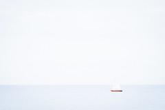 Can you hear that? Me neither:) (Geolilli) Tags: minimalism minimal fujifilm sailboat sail ostsee baltic