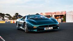 XJ220 (m.grabovski) Tags: le mans classic 2018 circuit de la sarthe lemans france mgrabovski jaguar xj220