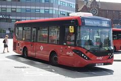 AL 8219 @ West Croydon bus station (ianjpoole) Tags: abellio london alexander dennis enviro 200mmc yx16obh 8219 working route 367 west croydon bus station bromey north