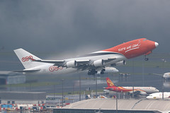 OO-THA, 747-400F, ASL Airlines, Hong kong (ColinParker777) Tags: ootha boeing 747 747f 744f 744 747400f b747 b744 b747f b744f b747400f 35232 1381 asl tnt airways airlines 3v tay airline cargo transport plane airplane airliner aviation air flying flight fly takeoff departure aeroplane sure we can slogan misty foggy moody weather cloud grey dark condensation hong kong hkg vhhh hksar lantau chek lap kok airport canon 7d2 7dmk2 7dmkii 7dii 200400 l lens zoom telephoto pro