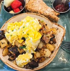 Yummy Eggs & Potato 14 (LarryJay99 ) Tags: iphone7plus iphone7 yummy yumm food eats tabletops plated bowls stuffontables crockery