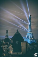 Eiffel Power (A.G. Photographe) Tags: anto antoxiii xiii ag agphotographe paris parisien parisian france french français europe capitale d850 2470 nikon nikkor toureiffel eiffeltower japon japonisme