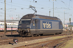 BLS Re 465 013 Basel Bad (daveymills37886) Tags: bls re 465 013 basel bad baureihe bombardier