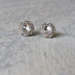 Crystal Silver Earrings, Crystal Earrings, Inexpensive Earrings, Inexpensive Jewelry, Silver Bridesmaid Earrings, Silver Costume Jewelry https://t.co/6ZXvcM0r7K #gifts #earrings #bridesmaid #jewelry #weddings https://t.co/TkCOnuiTjZ (petalperceptions.etsy.com) Tags: etsy gift shop fashion jewelry cute