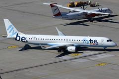 Stobart Air / FlyBe Embraer 195 EI-GGC (c/n 19000213) (Manfred Saitz) Tags: vienna airport schwechat vie loww flughafen wien stobart air flybe embraer 195 e95 e195 eiggc eireg