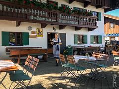 Aumanwirt #1383 (svenpetersen1965) Tags: auerbräu aumanwirt bavaria bavarian biergarten gasthaus stammtisch beergarden costume dirndl dress lady service traditional waitress woman