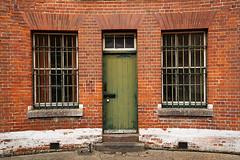Fort Brockhurst Door & Windows (fstop186) Tags: fortbrockhurst doors windows brickwork army military