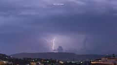 Thunder parade this morning ! (Bazil Van Sinner) Tags: capturemoment angrysky thunder lightning thoor thor chania malaxa crete greece bazilvansinner bvs bazilvansinnerphotography today sky clouds αστραπή