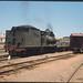 3.12.1968 Peterborough - South Australia loco SAR T213 shunting yard - narrow gauge passenger car + brake (mb-s003-16)
