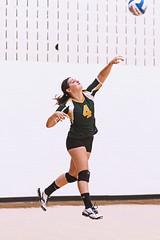 IMG_1724 (SJH Foto) Tags: girls high school volleyball teens team wyalusing varsity serve burst mode