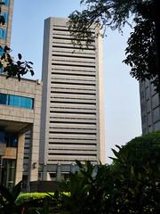 Tipikal-Arsek BI sisi selatan (Ya, saya inBaliTimur (leaving)) Tags: building gedung arsitektur architecture jakarta office kantor