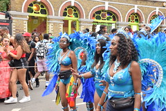 DSC_8159 (photographer695) Tags: notting hill caribbean carnival london exotic colourful costume girls dancing showgirl performers aug 27 2018 stunning ladies