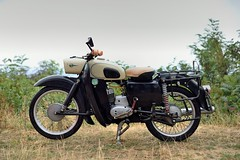 MZ ES 125 125cc 2 stroke (Michel 67) Tags: mz moto motorcycle motorbike motorrad motocicleta motociclette ancienne classic classik clasica antigua vecchia vintage