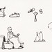 Woodcut icons by Julie de Graag (1877-1924). Original from the Rijks Museum. Digitally enhanced by rawpixel.