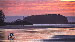 Tofino Sunset (pixelsnap) Tags: westcoast vancouverisland southchestermanbeach tofino bc britishcolumbia canada pink