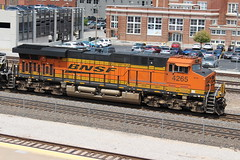 BNSF 4265 (steamfan1211) Tags: bnsf railroad railway trains locomotives kansascity