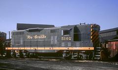 D&RGW GP7 5102 (Chuck Zeiler) Tags: drgw gp7 5102 railroad emd locomotive alamosa train chuckzeiler chz