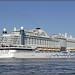 Passage cruiseschip AIDAPerla Maassluis 3