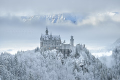 Final Fantasy (FredConcha) Tags: neuschwanstein castele palace snow cold freconcha germany cliffs mountain landscape nature nikond800 1635 touristic