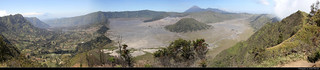 Panoramic view from Mount Penanjakan, Bromo-Tengger-Semeru NP, Java, Indonesia