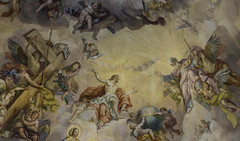 Christ - St. Charles Church - Vienna (jeffery edwards) Tags: canon70d vienna austria jesus christ cross savior st charles church painting mural ceiling art god
