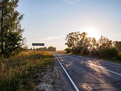 (Jack182_rus) Tags: m43 olympus em10ii leica summilux 15f17 landscape road village countryside evening sunset