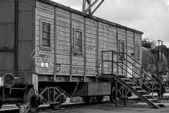 LWL-Industriemuseum (R.Z.fotografie) Tags: blackandwhite zwartwit industrie duitsland museum dortmund train wagon oud trein