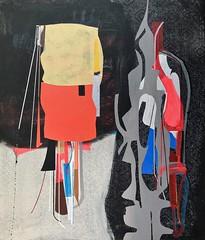 Jim Harris: Dante and Virgil Penetrating the Forest. (Jim Harris: Artist.) Tags: art arte artist dante abstract future futurism painting malerei maalaus málverk makabe målning schilderij schoolofthemuseumoffinearts