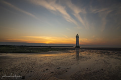 New Brighton (jonathancoombes) Tags: beach lighthouse sky water newbrighton sunset sand landscapes northwestengland nature wildlife explore windmill windfarm