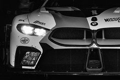 Mission 8 - Explored 09-01-18 (speedcenter2001) Tags: roadamerica wisconsin motorsports imsa race racecar racetrack racing paddock garage detail nikon70300mmgvr elkhart sportscar gtlm rll rahal bmw m8 25 blackandwhite schwarz weiss sep2 silverefexpro2 silverefex