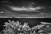 "Forth Rail Bridge IR (""A.S.A."") Tags: forth railway bridge river edinburgh queensferry scotland britain uk infrared infrared830nm sky cloud sonya7rinfrared830nm sonyzeissvariotessarfe1635mmf4 wideangle landscape blackwhite mono monochrome greyscale niksoftware silverefex asa2018"