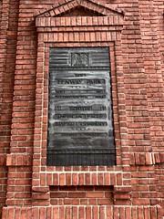 Fenway Park (Crawford Brian) Tags: fenwaypark baseball stadium ballpark plaque brick historic building boston mlb majorleaguebaseball nrhp nationalregisterofhistoricplaces americana america iphone marker landmark