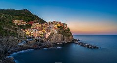 Mediterranean Pearl (Dimensionall) Tags: sony a7ii zeiss batis18 landscape manarola cinqueterre italy pearl beauty sunset golden colors