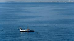 The Vessel and the Sea (cokbilmis-foto) Tags: nice nizza côte dazur sea blue ship boat vessel horizon minimalism minimalistic nikon d3300 nikkor 18105mm minimalizm