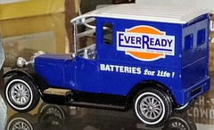 Model truck advertising Eveready batteries (Will S.) Tags: mypics toytruck eveready kirkwall airport orkney scotland unitedkingdom