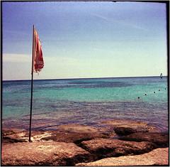 windstill (Ulla M.) Tags: elafonisi crete kreta mittelmeer mediterraneansea mittelformat balgenkamera kretischesmeer seaofcrete wellen waves strand beach canoscan8800f adox adoxmessgolf messgolf selfdeveloped selbstentwickelt tetenalcolortec analogphotography analogue analog filmphotography filmisnotdead filmshooter umphotoart falter foldingcamera