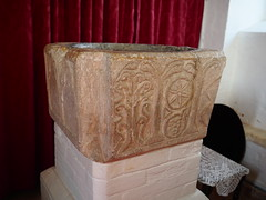 Font c1180 St Mary's Church Withersdale Suffolk (Simon Ross Photos) Tags: stmaryschurch withersdale suffolk churches font olympus penf 2018