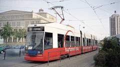 2003-05-28 Leipzig Tramway Nr.1145 (beranekp) Tags: germany deutschland leipzig tramway tram tramvaj tranvia strassenbahn šalina elektrika električka 1145